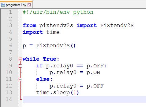 Python Pixtend